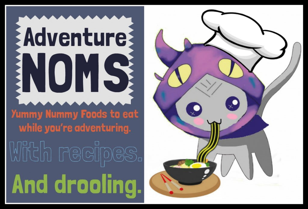 Border Adventure Noms graphic sign