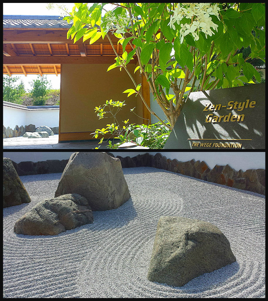 Japanese Zen Rock Garden Meijer Gardens Adventure Dragon
