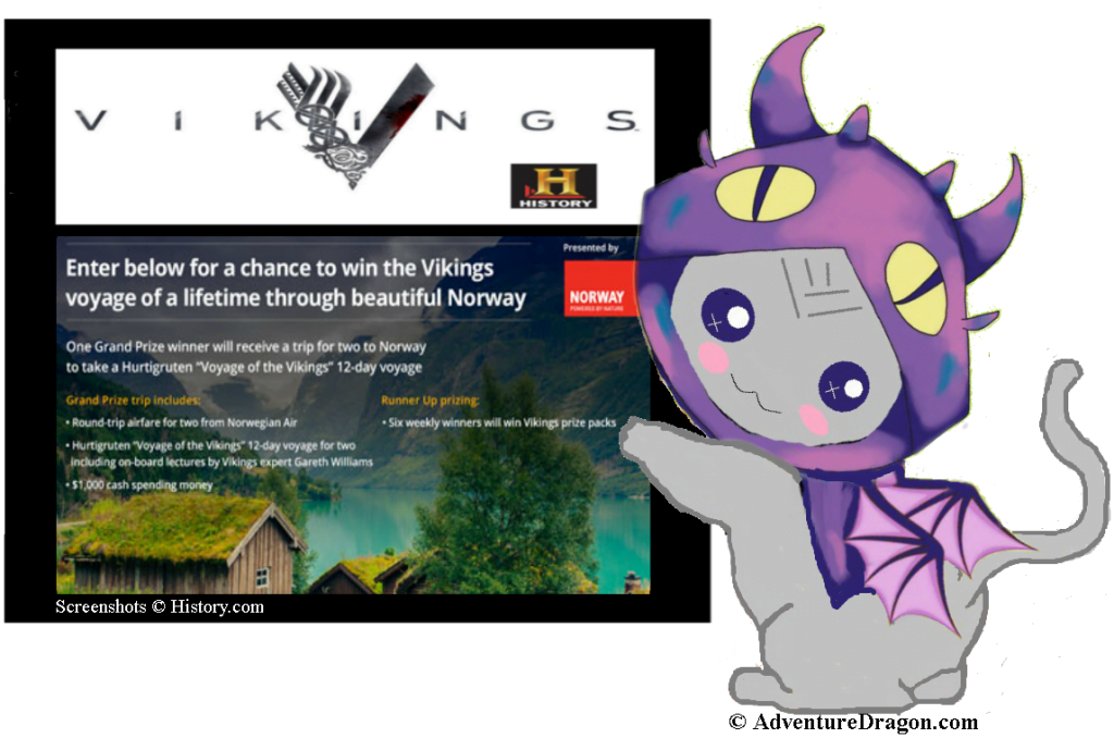 Win a Viking Voyage to Norway with the History Channel and Visit Norway