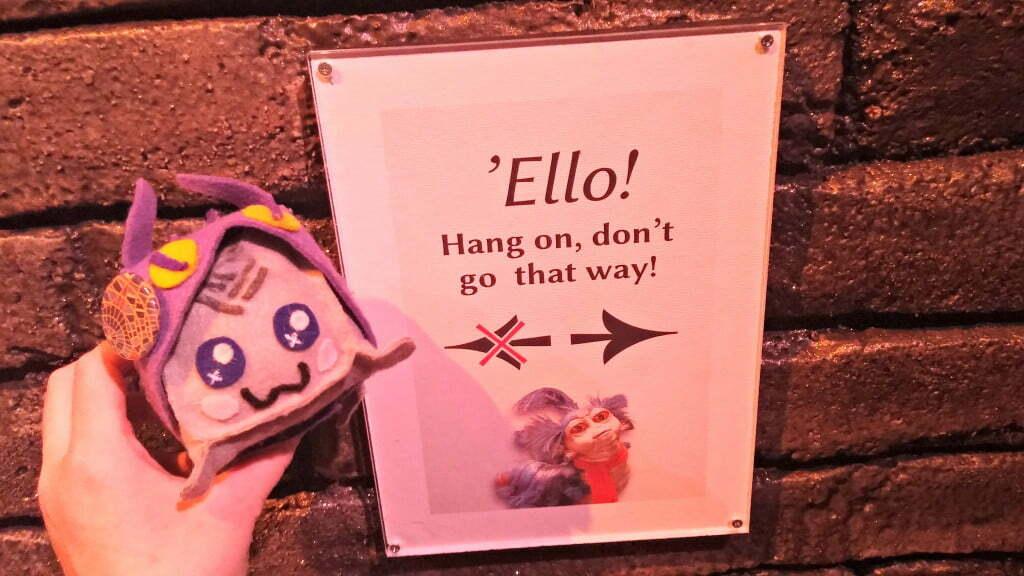 Labyrinth Exhibit Ello dont go that way
