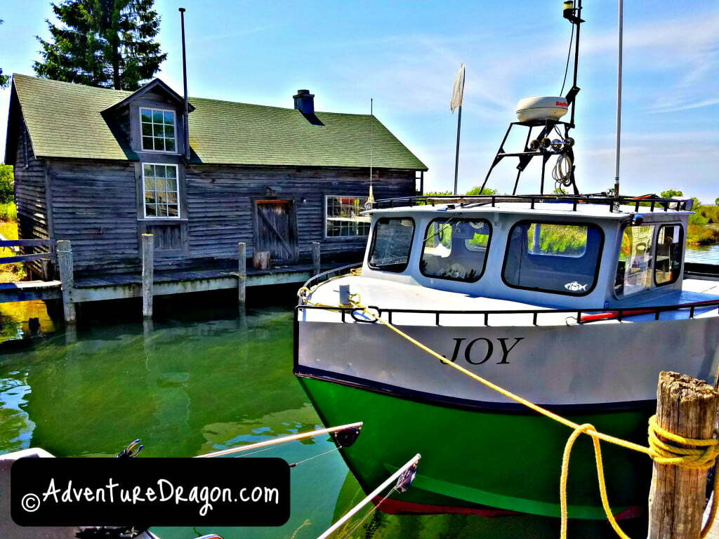 FIshtown USA Leland MI Joy