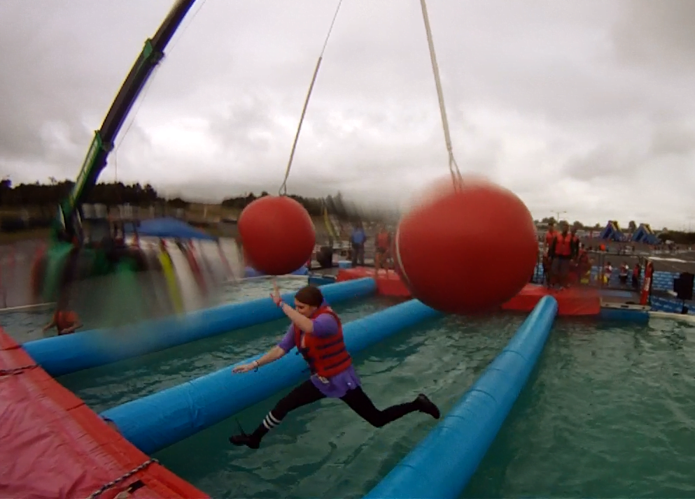 Wipeout Run is Like the TV Show — & We Tried it Out!