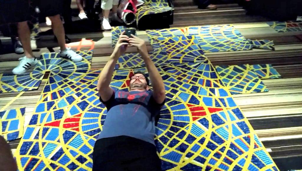Marriott Carpet Selfie