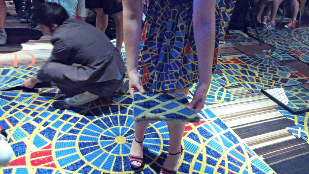 Marriott Carpet memorial - DragonCon Revenge of the Carpet