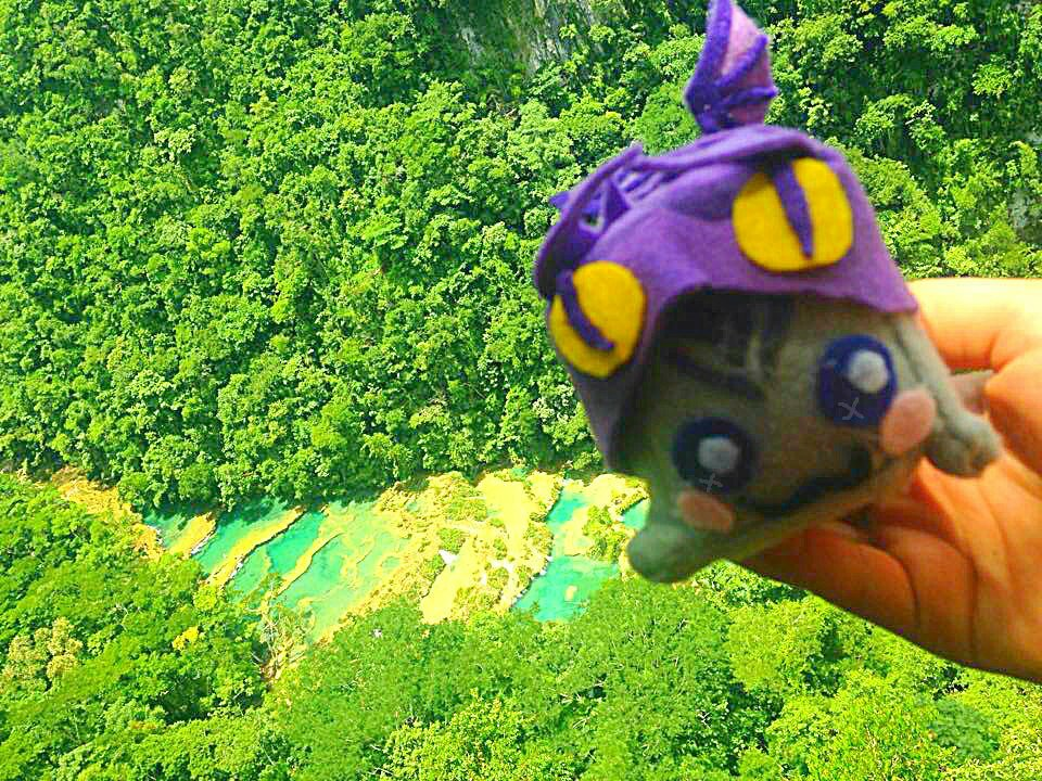 Adventure Dragon at Semuc Champey Guatemala
