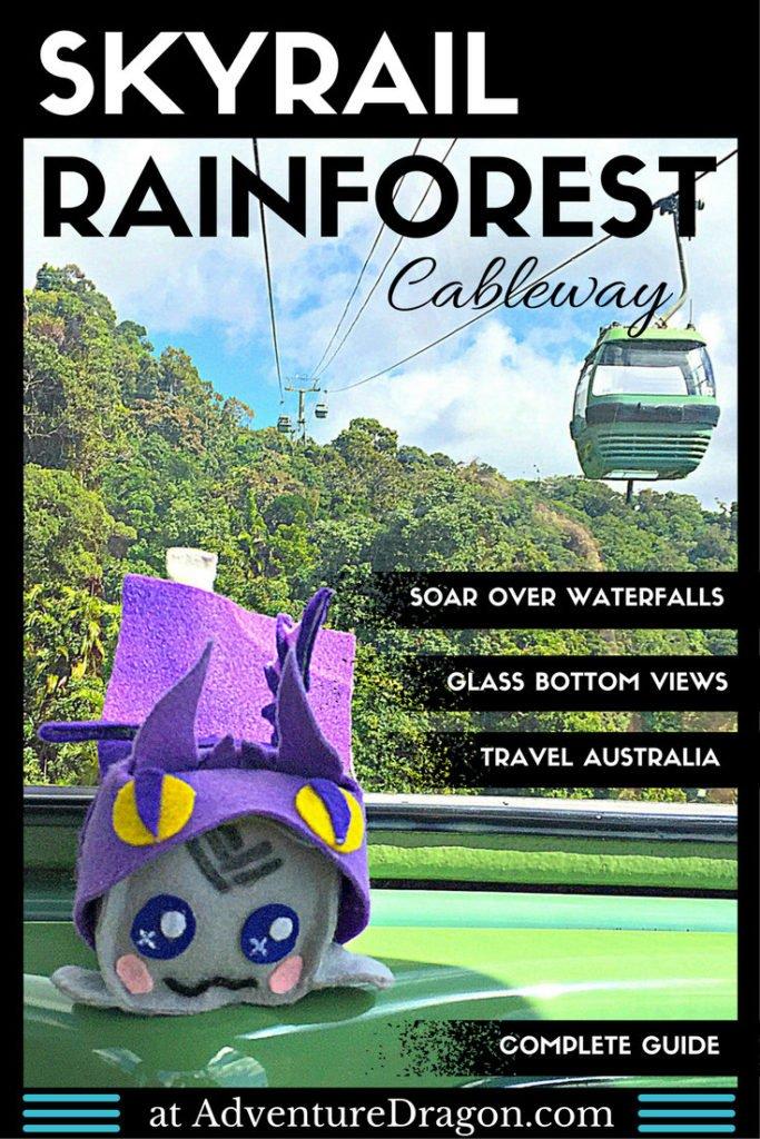 Cairns Skyrail Rainforest Cableway Australia Pin