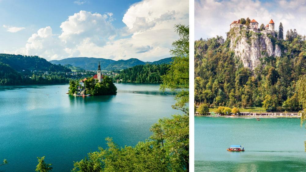 Bled Castle Slovenia Cliff Castles