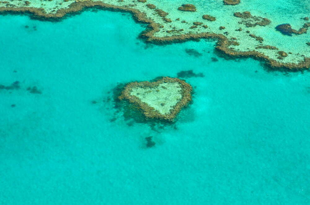 Heart Reef in Great Barrier Reef - Most Beautiful Places in Australia