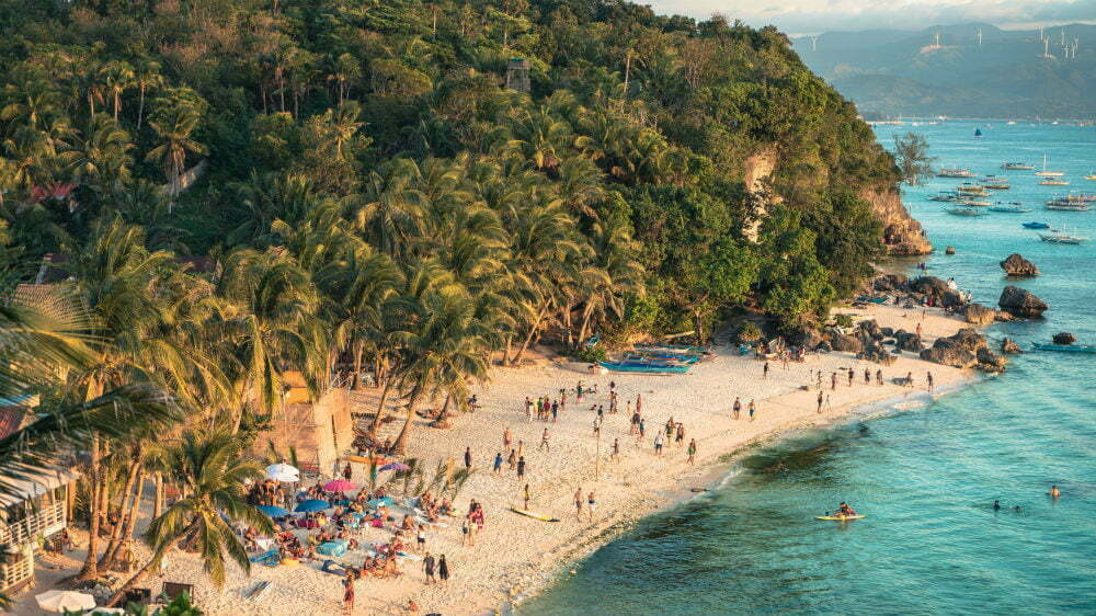 Boracay Beaches besides White Beach