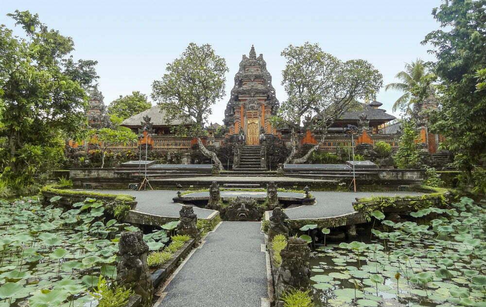 Best Temples in Bali Temples - Pura Taman Kemuda Saraswati Temple in Ubud Bali