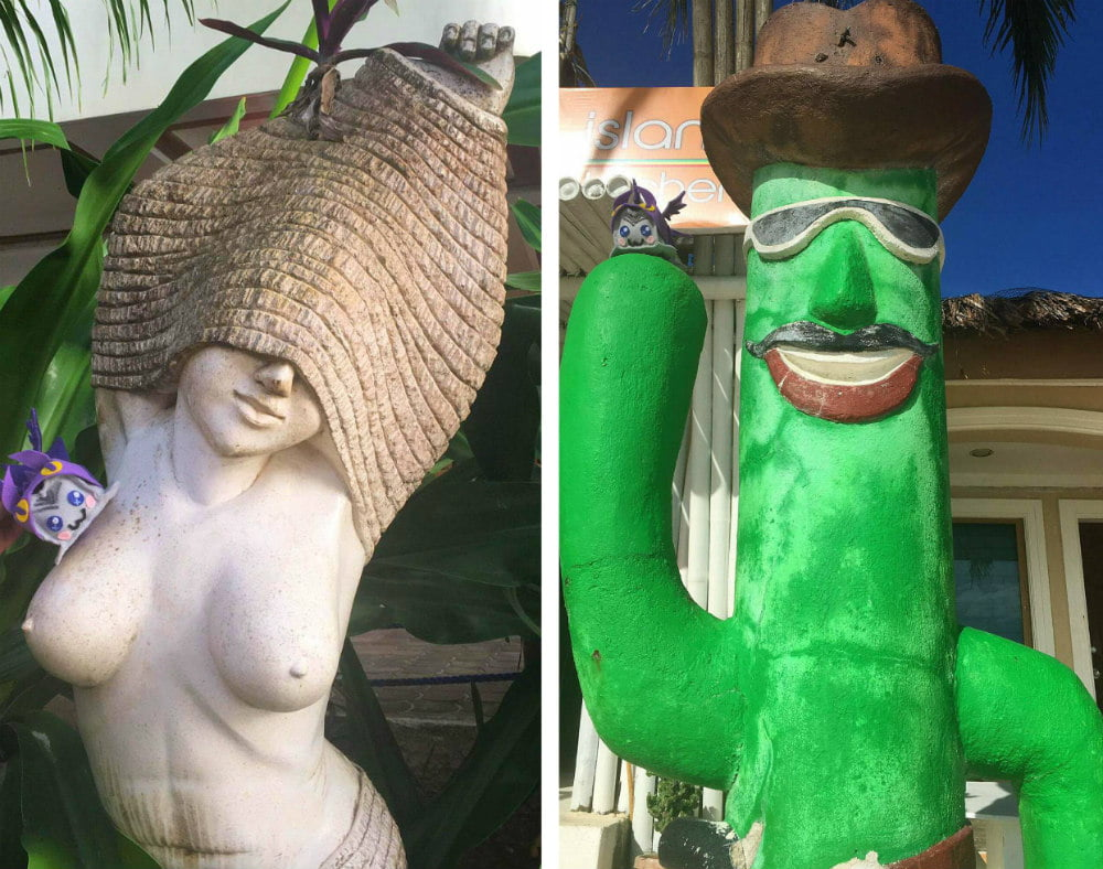 Silly Boracay Activities Statues Scavenger Hunt