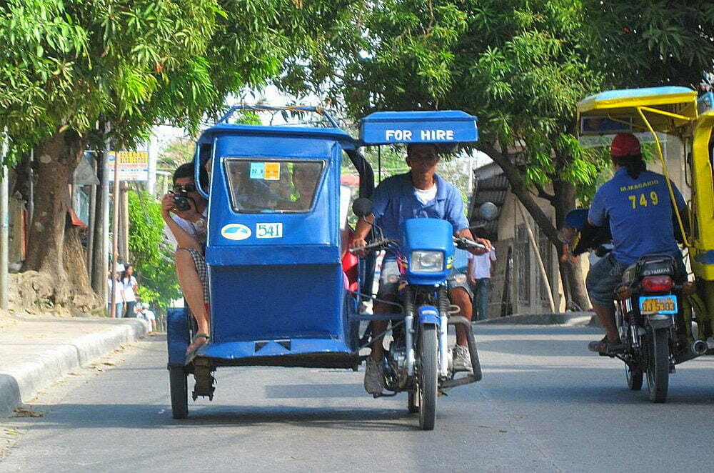 Boracay Activities - Ride a Tricycle