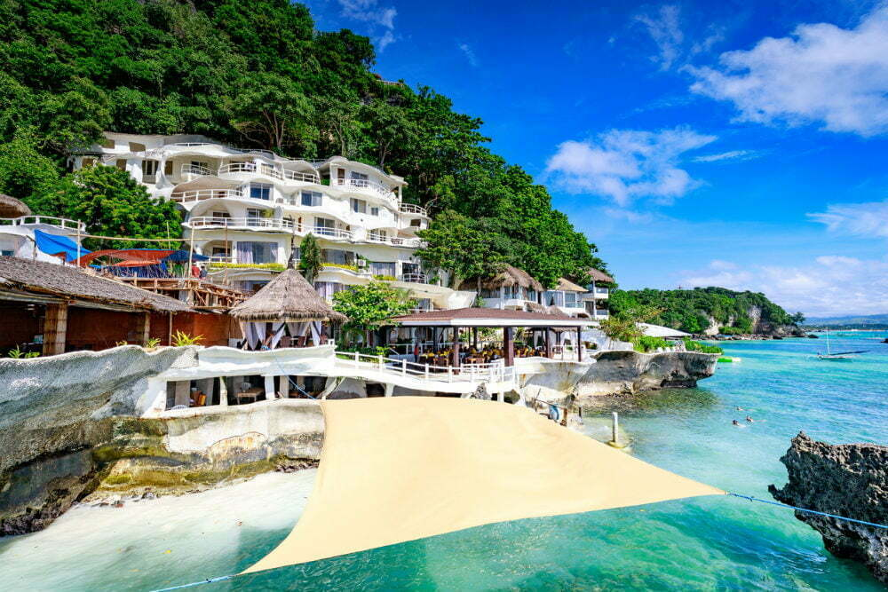 Beachfront Hotels in Boracay - Boracay West Cove Resort