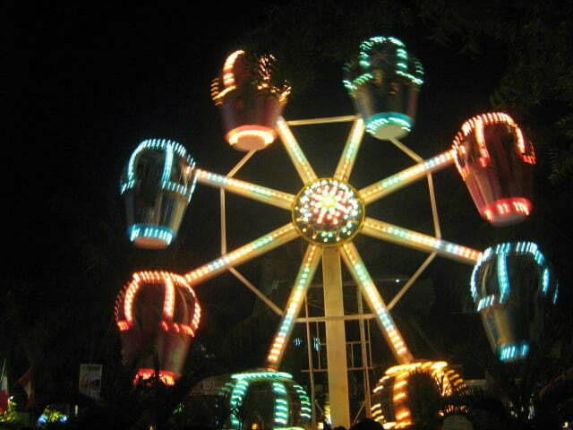 D'Mall Ferris Wheel Boracay Kids Activities