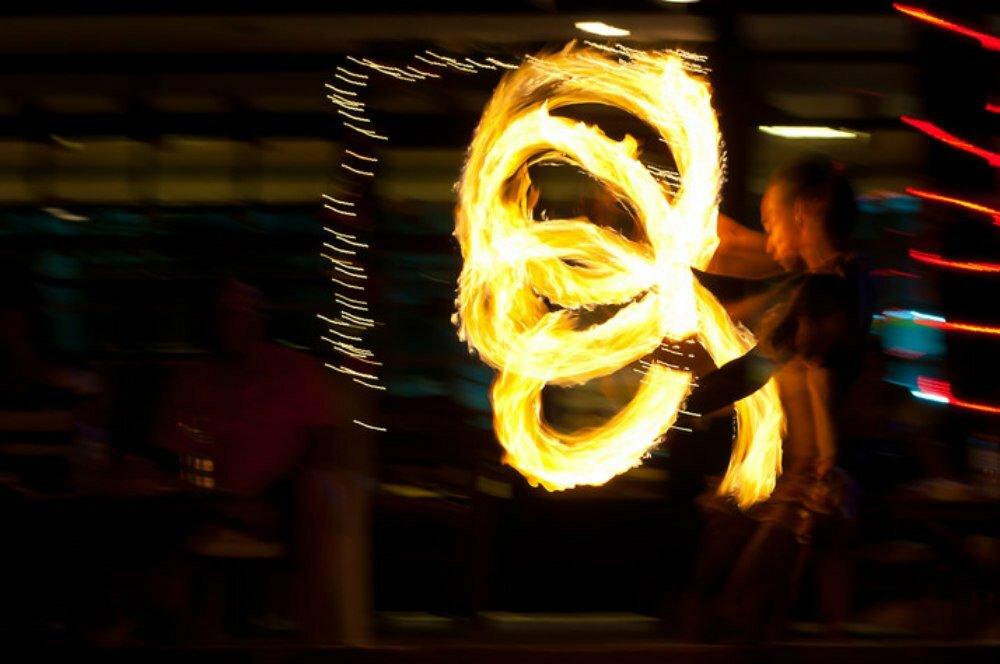 Boracay Nightlife Activities Fire Dancers