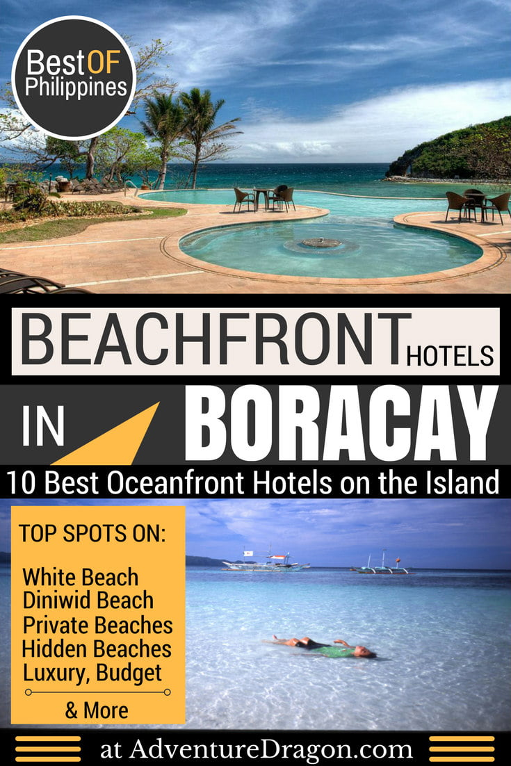 Best Beachfront Hotels in Boracay and Secret Beach Hotels