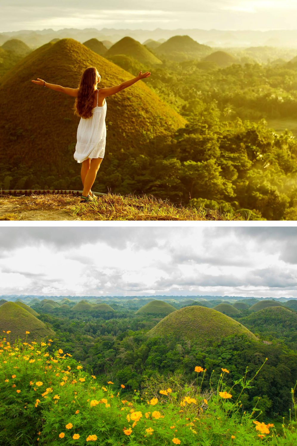 Most Beautiful Places in the Philippines Photos - Chocolate Hills of Bohol