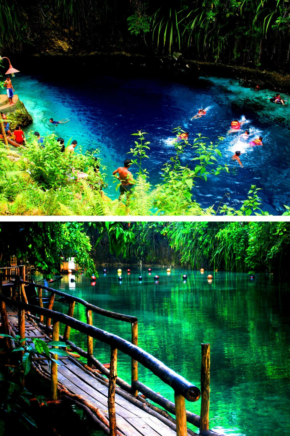 Hinatuan Enchanted River on Mindanao Island - Most Beautiful Places in the Philippines Photos