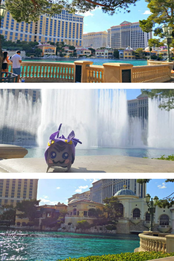 100 Free Things to do in Las Vegas - Fountains of Bellagio