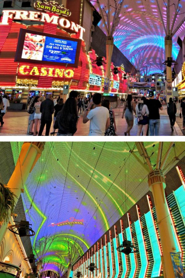 Fremont Street Experience Free Light Show - Best Free Shows in Las Vegas