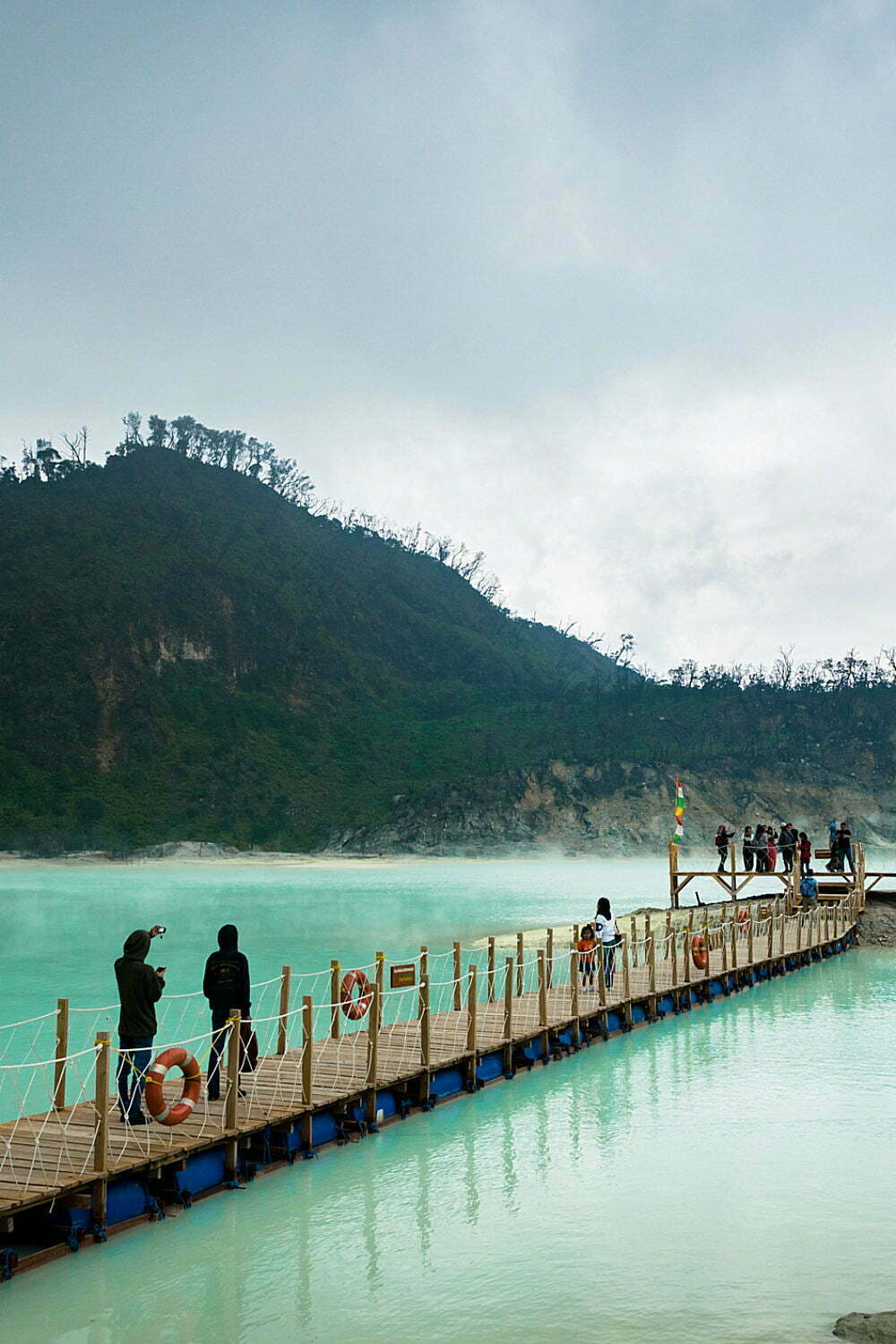 Kawah Putih White Crater Lake Indonesia Photography - Best Places to Visit in Indonesia