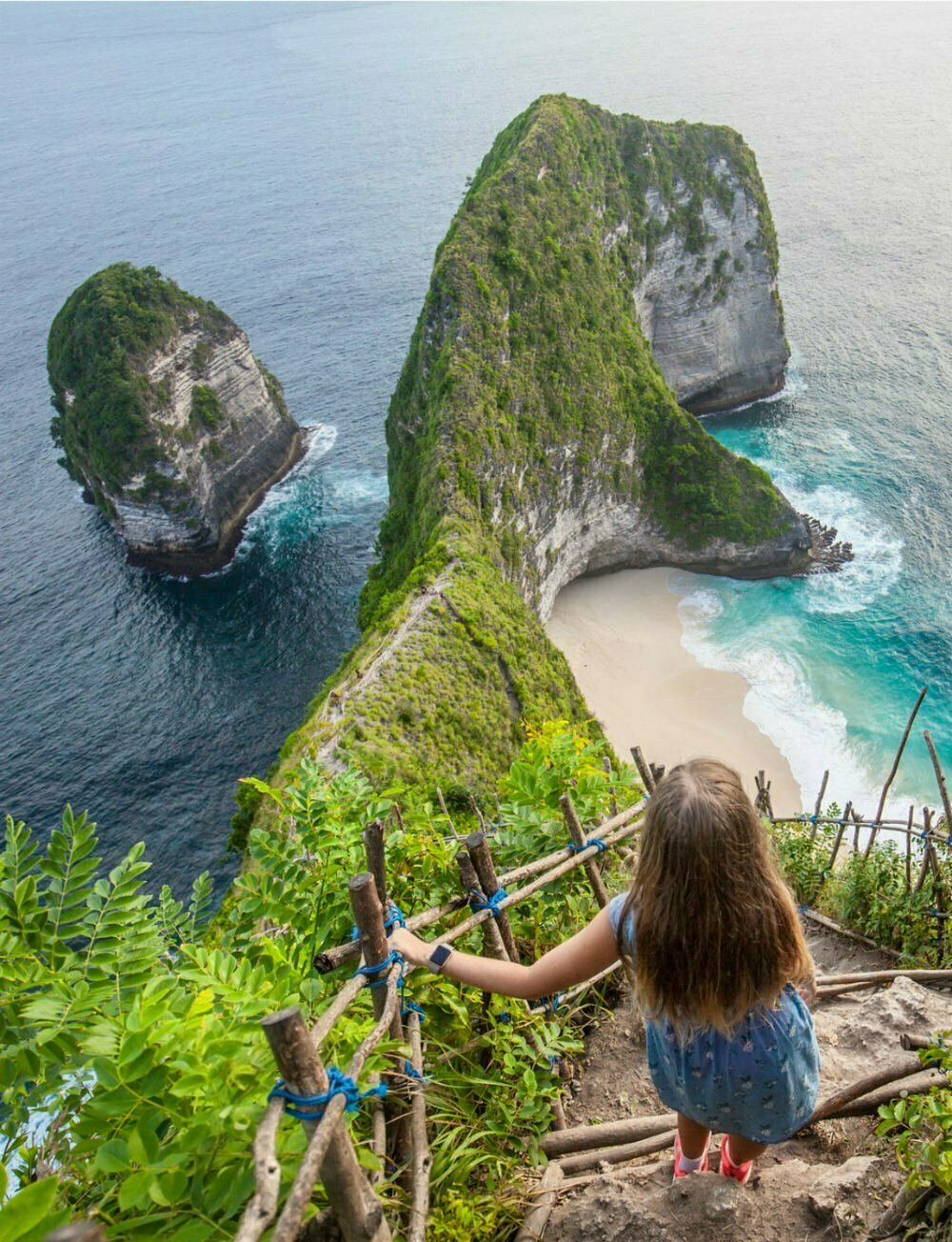 Kelingking Beach Nusa Penida Indonesia Photography - Most Beautiful Places in Indonesia