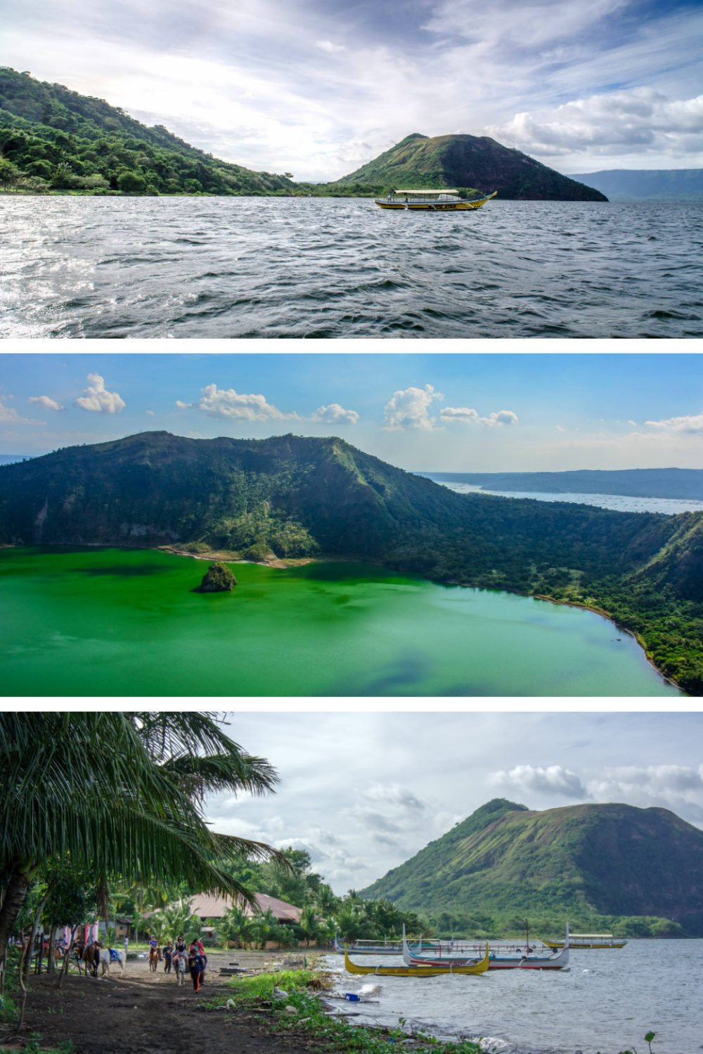 Most Beautiful Places in the Philippines Photos - Taal Lake and Taal Volcano Crater Lake