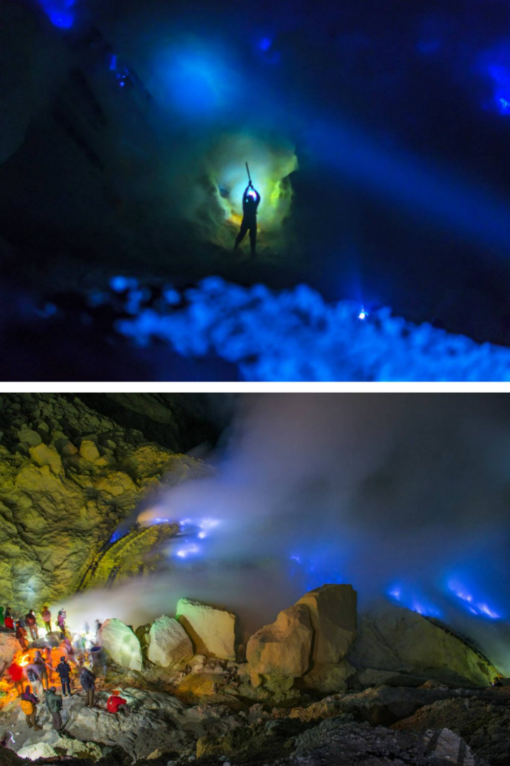 Blue Fire Kawah Ijen Volcano Indonesia Photography - Best Places to Visit in Indonesia