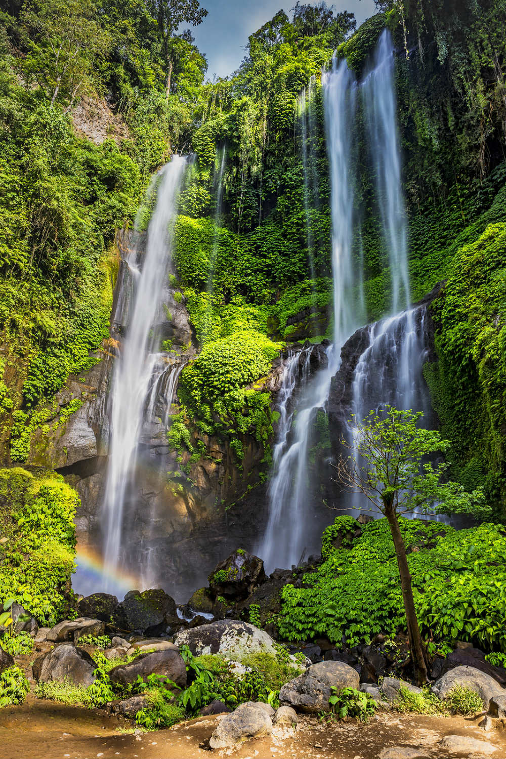 Beautiful Places in Indonesia Photography - Sekumpul Waterfall Bali