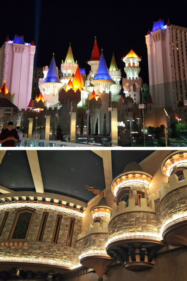 100 Free Things to do in Las Vegas - Excalibur Castle Camelot