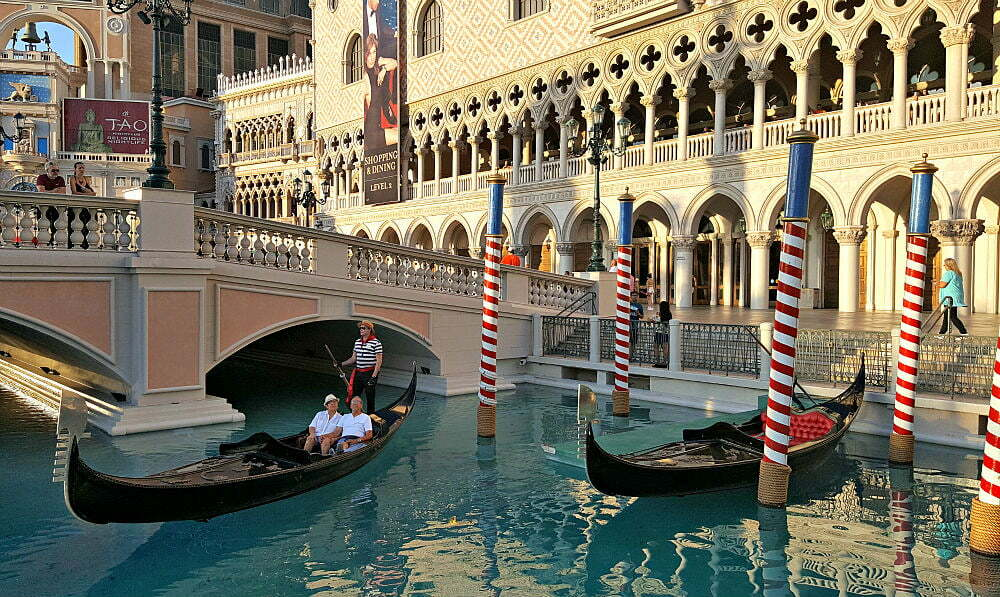 100 Free Things to do in Las Vegas - Canals Outside Doge's Palace
