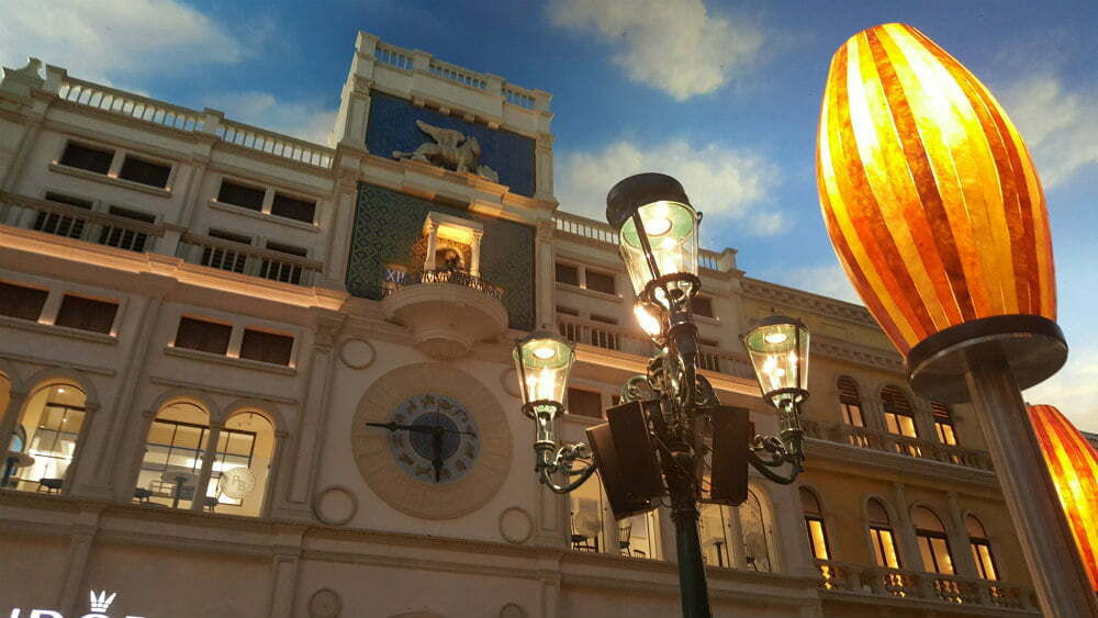100 Free Things to do in Las Vegas - Replica of St Mark's Clocktower