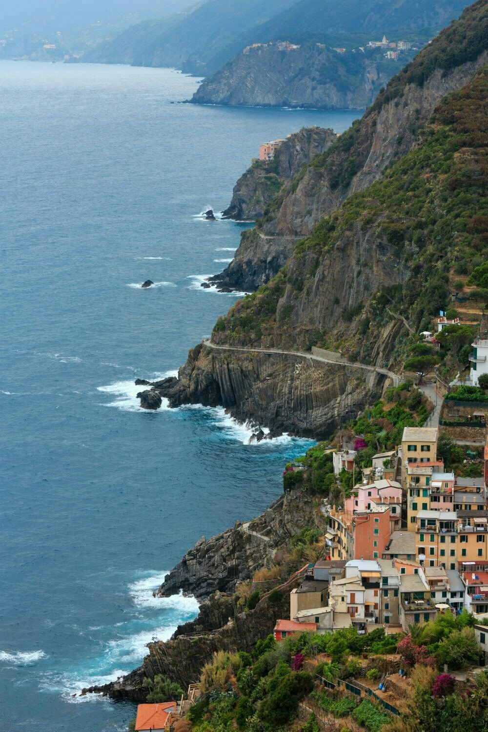 The Via dell'Amore Path of Love on the Blue Trail Hike in Cinque Terre