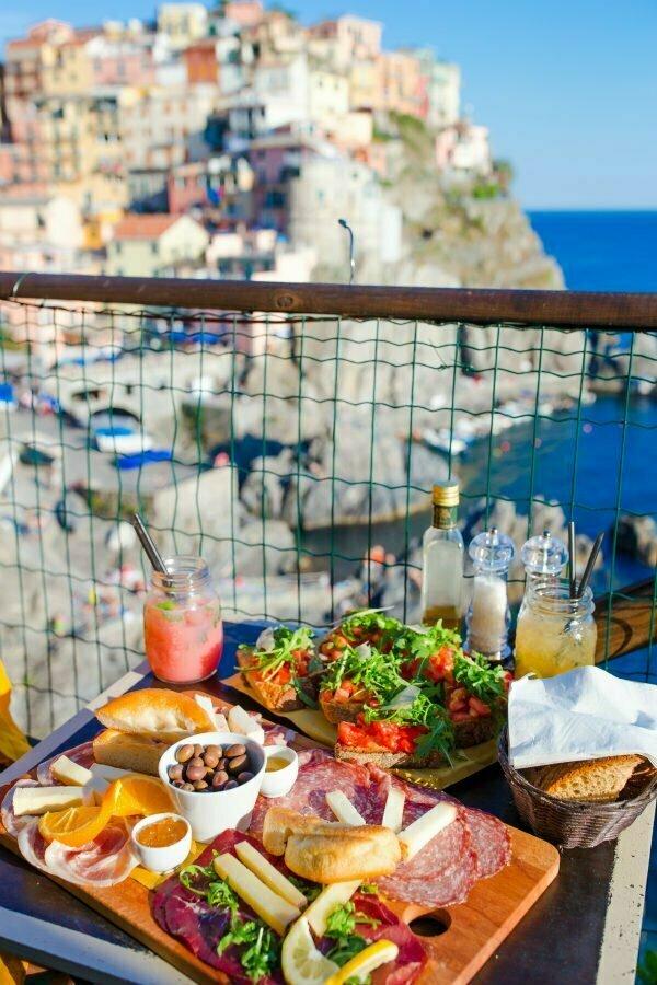 Best Cinque Terre Restaurants in Manarola Nessun Dorma