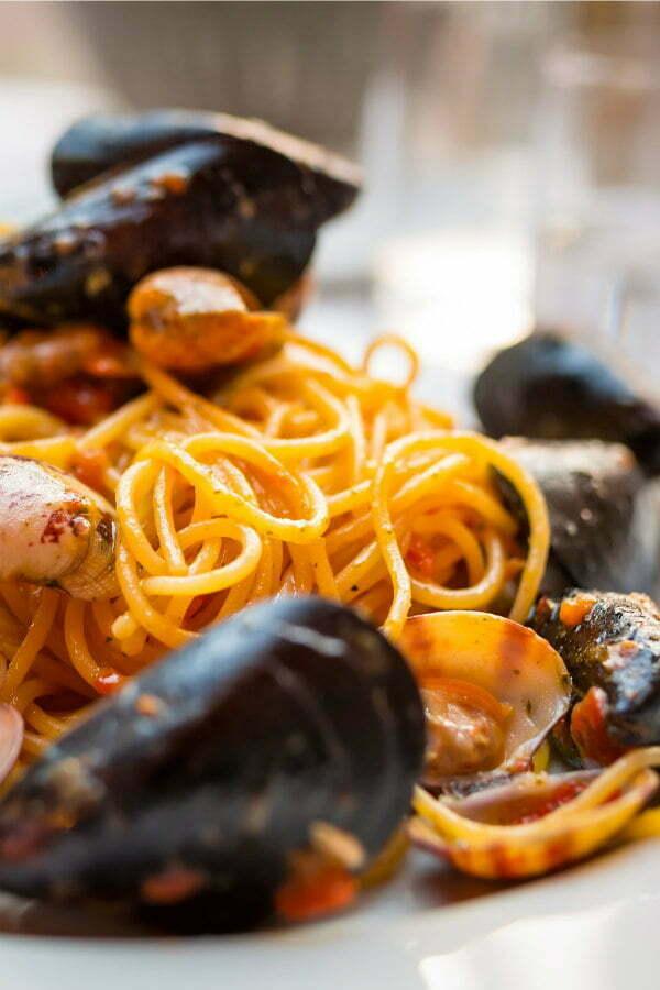 Cinque Terre Restaurants in Vernazza Belforte Spaghetti alla Bruno