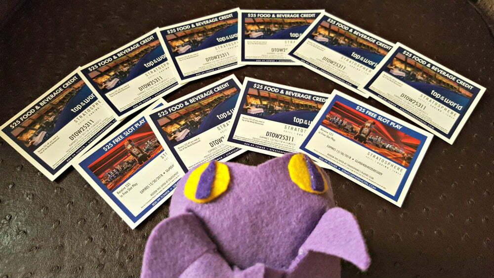 Las Vegas Free Slot Play Vouchers and Las Vegas Free Food Vouchers