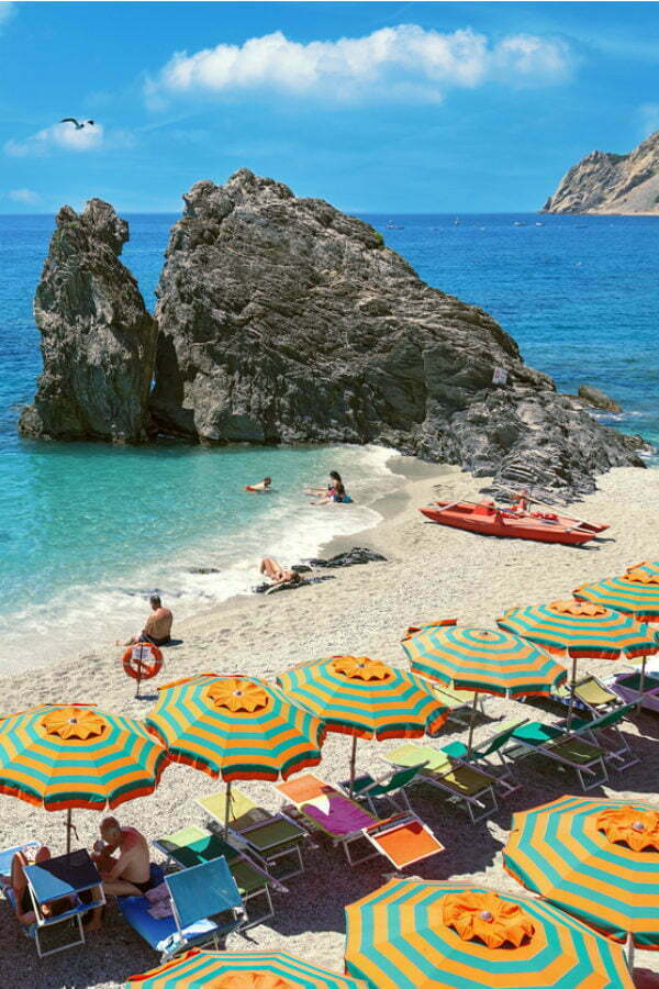 What is the best beach in Cinque Terre