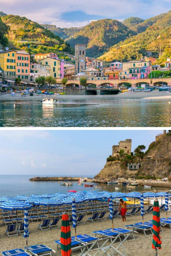 Old Town Monterosso Beach in Cinque Terre | Best Cinque Terre Beaches