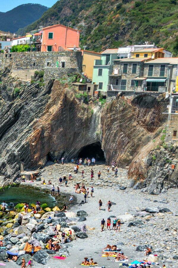 Best Cinque Terre Beaches in Vernazza | Hidden Beach in Vernazza Cinque Terre