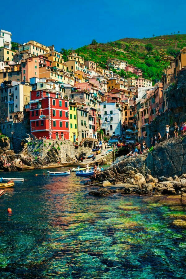 Riomaggiore Harbour | Best Beaches in Cinque Terre