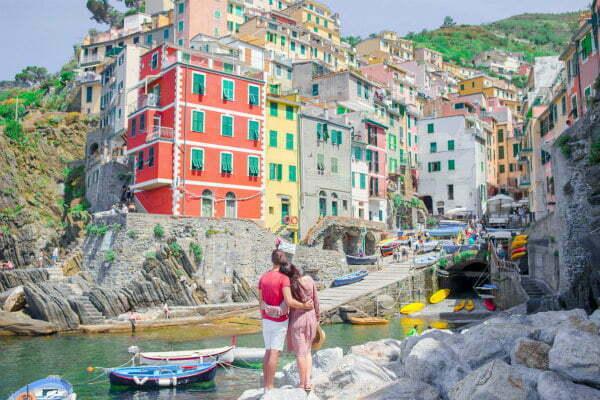 Riomaggiore Harbour | Cinque Terre Best Beaches