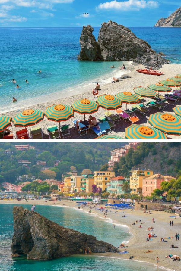 Fegina Monterosso Beach in Cinque Terre | Best Cinque Terre Beaches