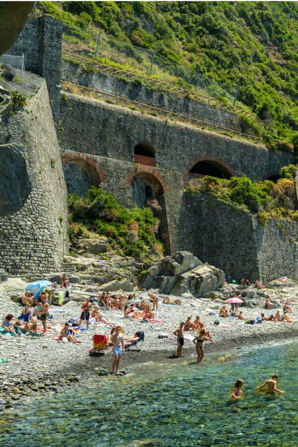 Hidden Riomaggiore Beach in Cinque Terre | Best Cinque Terre Beaches