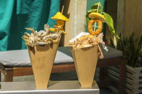 Il Bocconcino Street Food in Cinque Terre Seafood Cones