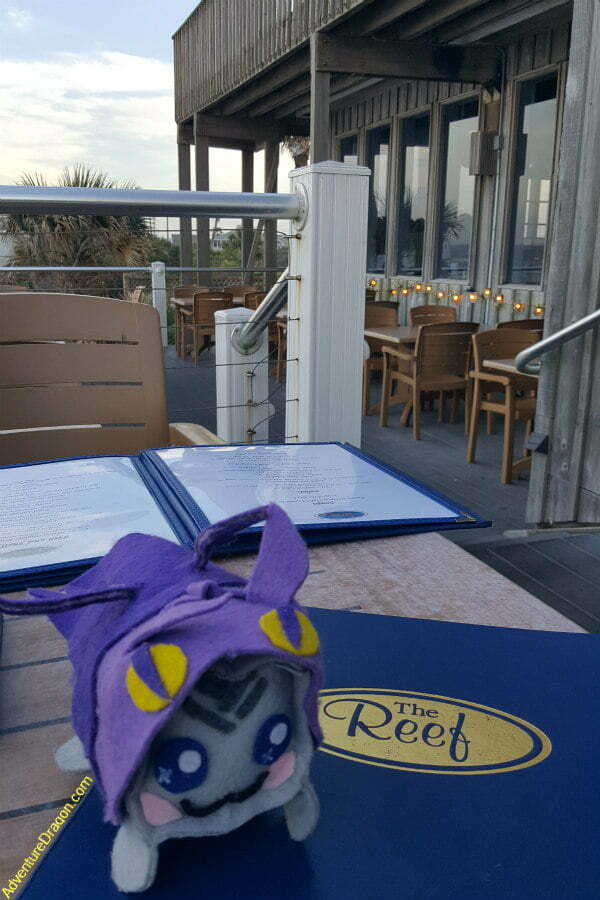 Outdoor Patio at Waterfront Beach Restaurant in St Augustine FL - The Reef Restaurant St Augustine