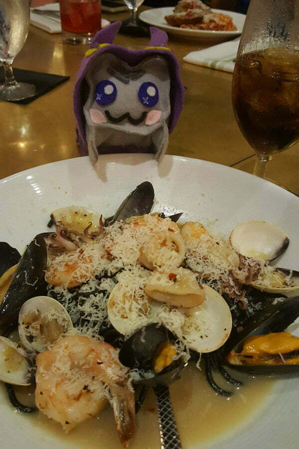 Best Universal CityWalk Orlando Restaurants - Vivo Italian Kitchen Squid Ink Seafood