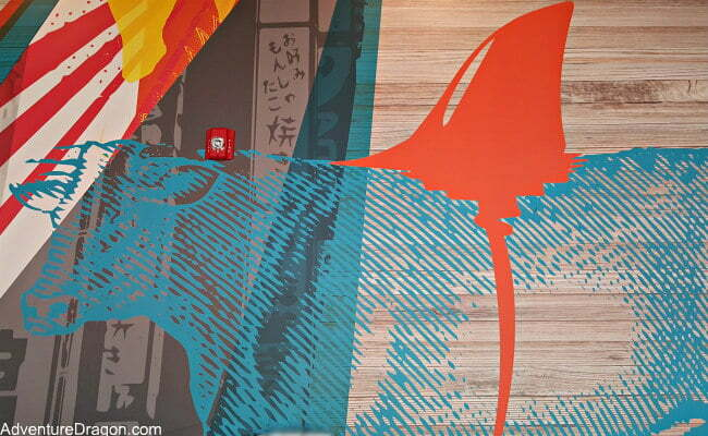 Best Universal CityWalk Orlando Restaurants - Cowfish Mural