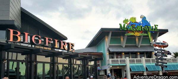 Margaritaville CityWalk & Bigfire CityWalk Universal Orlando Restaurants