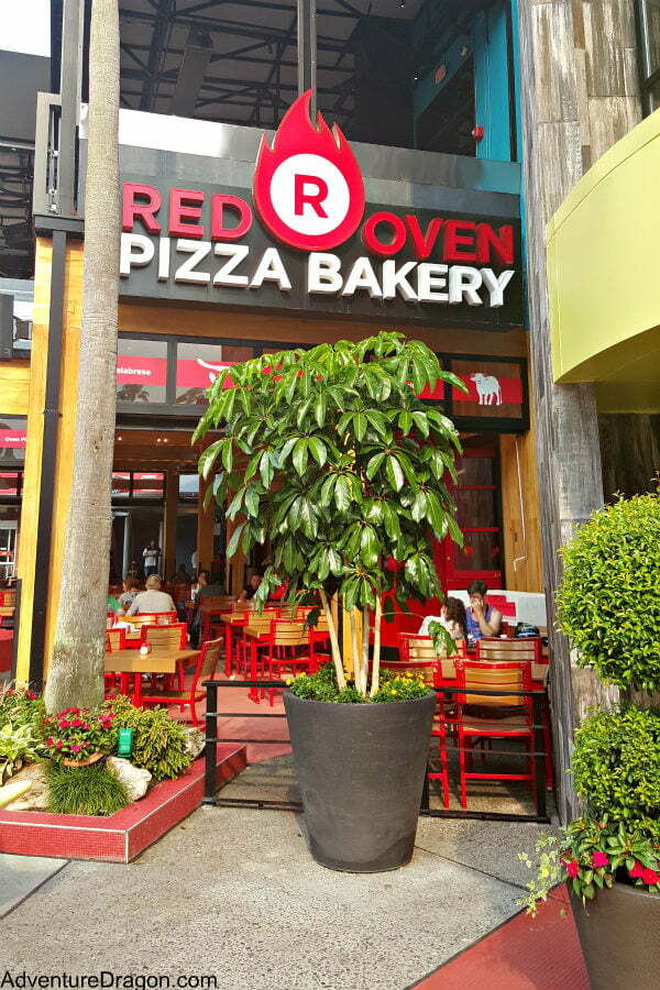 Red Oven Pizza Bakery - Best Universal CityWalk Orlando Restaurants