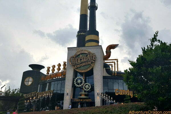 Best Universal CityWalk Orlando Restaurants - Toothsome Chocolate Emporium Dessert Foundry